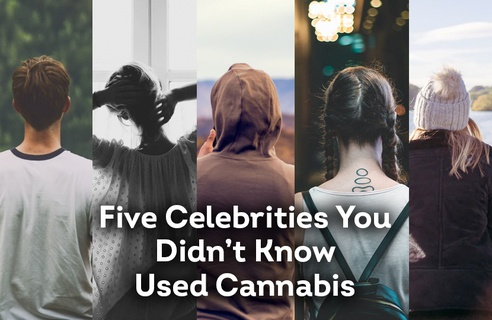 Five Celebrities You Didn't Know Consumed Cannabis